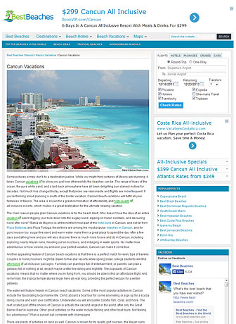 Best Beaches - Cancun