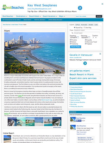 Best Beaches - Miami
